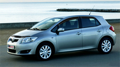 Защита передних фар карбон Toyota Auris 2007- (EGR1058CF)