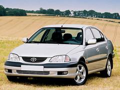 Защита передних фар прозрачная Toyota Avensis 1998 (EGR-1034)
