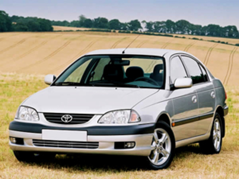 Защита передних фар карбон Toyota Avensis 1998 (EGR-1034CF)