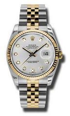Наручные золотые часы Rolex Datejust 116233 Silver