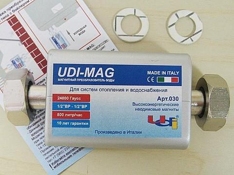"""Магнитный преобразователь воды UDI - MAG MEGAMAX 1/2""""-1/2"""" 24000 Гс, Арт. 10155030 ( Италия)"""