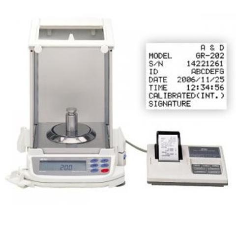 Весы аналитические A&D GR-300 с поверкой