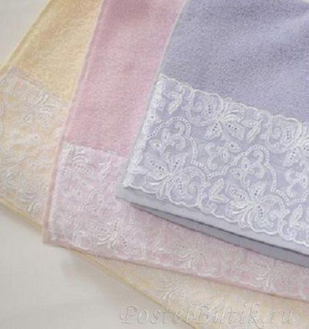 Полотенце 30x50 Vossen Moonlight розовое