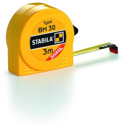 Карманная рулетка Stabila тип BM30 3 метра
