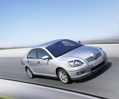 Защита передних фар прозрачная Toyota Avensis 2006- (EGR-1054)
