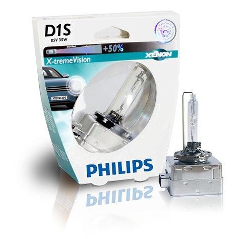 Лампа ксенон D1S (4800К) Philips X-tremeVision (блистер)