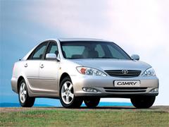 Защита передних фар карбон Toyota Camry 2004- (EGR-1051CF)