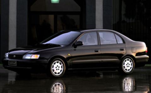 Защита передних фар прозрачная Toyota Carina E 1992- (EGR-1020)