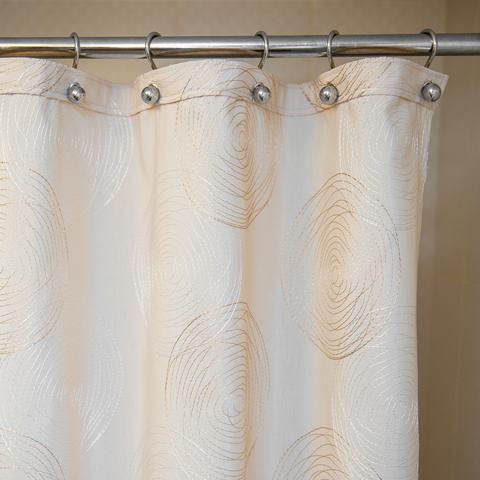 Элитная шторка для ванной 200х240 Melany Natural от Arti-Deco