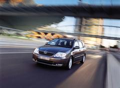 Защита передних фар прозрачная Toyota Corolla Sedan/Wagon 2004 (EGR-1049)