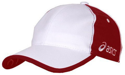 Бейсболка Asics Team Cap 6 Red