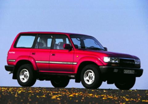 Защита передних фар прозрачная Toyota Land Cruiser 80 (239020)