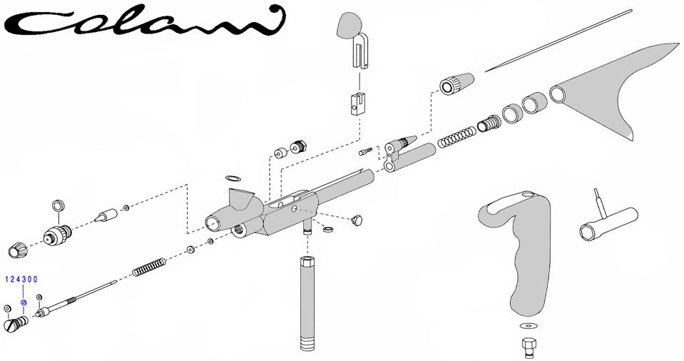 Уплотнение возд. клапана фронтальное для Colani