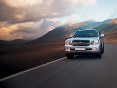 Защита передних фар прозрачная Toyota Land Cruiser 200 2008- (239230)