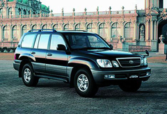 Защита передних фар карбон Toyota Land Cruiser 90 (Prado) (239050CF)