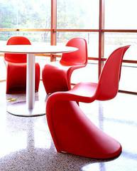 стул panton chair ( абс пластик )