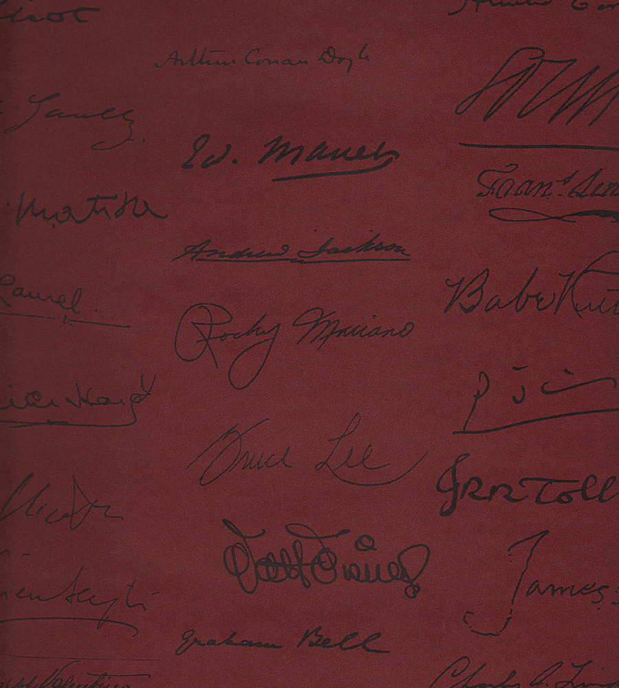 Обои Andrew Martin Navigator Autograph Red, интернет магазин Волео