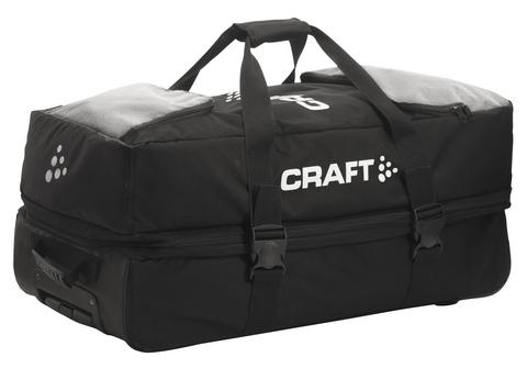 Сумка на колёсах Craft Gear черная