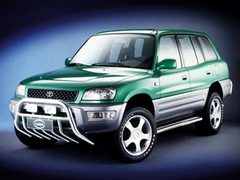 Защита передних фар прозрачная Toyota RAV-4 1994-97 (239030)