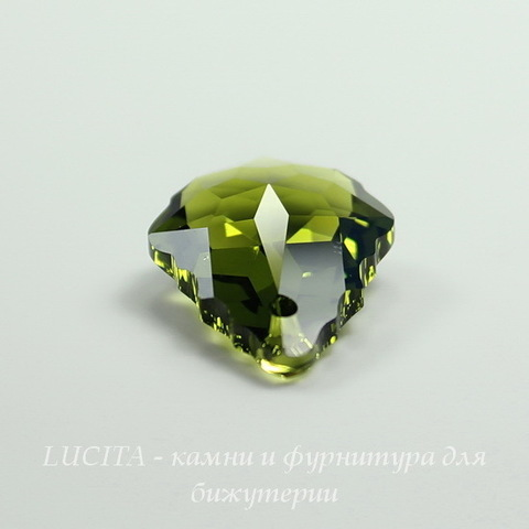 6090 Подвеска Сваровски Baroque Olivine (22х15 мм) ()