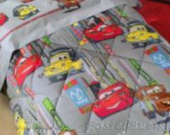 Элитное покрывало детское Cars City от Caleffi