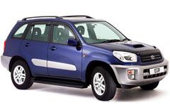 Защита передних фар карбон Toyota RAV-4 2004- (239190СF)