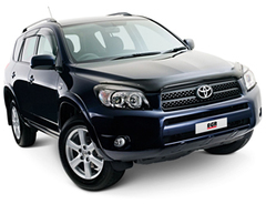 Защита передних фар прозрачная Toyota RAV-4 2006- (239210)