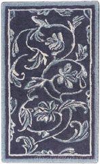 Элитный коврик для ванной Dynasty 993 чёрный с серебром от Abyss & Habidecor