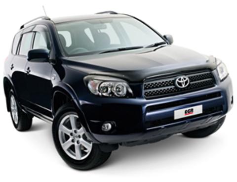 Защита передних фар карбон Toyota RAV-4 2006- (239210CF)