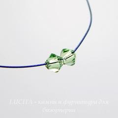 5328 Бусина - биконус Сваровски Peridot 4 мм, 10 штук