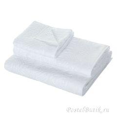 Набор полотенец 2 шт Roberto Cavalli Damasco белый