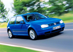 Защита передних фар карбон Volkswagen Golf IV 1999- (EGR-4816CF)