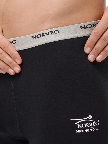 Термокапри Norveg Soft Black мужские