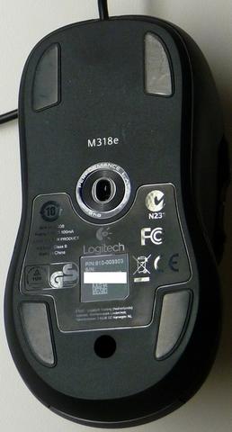 LOGITECH M318e USB Black [84603]