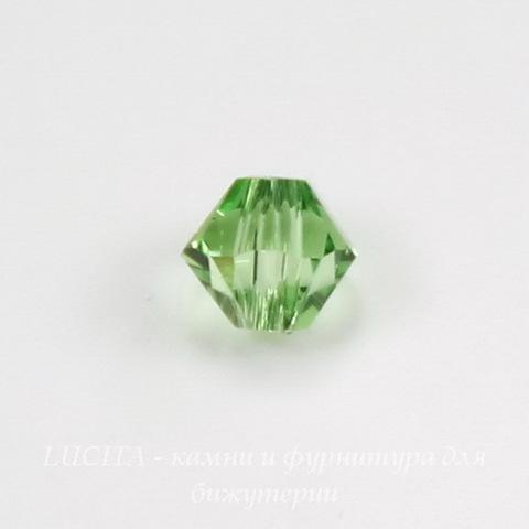 5328 Бусина - биконус Сваровски Peridot 4 мм, 10 штук ()