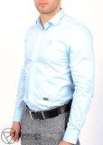 Рубашка Мужская Philipp Plein Голубая