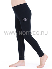 Терморейтузы из шерсти мериноса Norveg Soft Black детские
