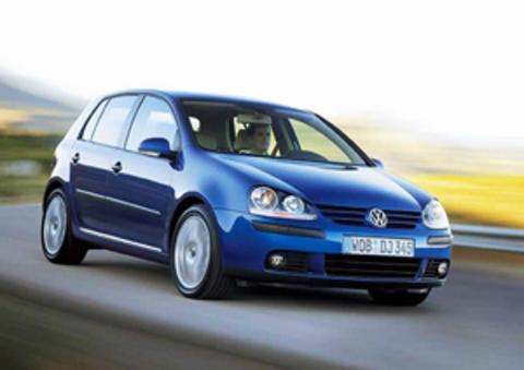 Защита передних фар карбон Volkswagen Golf V 2005- (EGR4825)