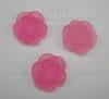 Кабошон акриловый розовый Роза, 18х7 мм ()