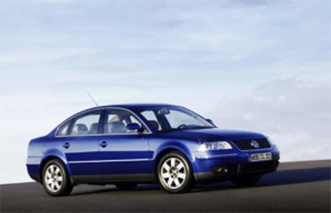 Защита передних фар прозрачная Volkswagen Passat 2001- (EGR4821)