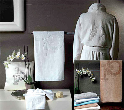 Набор полотенец 2 шт RoccoBarocco Freedom бронзовый