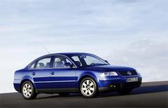 Защита передних фар карбон Volkswagen Passat 2001- (EGR4821CF)