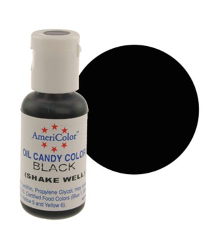 Краска для шоколада AmeriColor  BLACK, 19 гр.