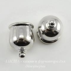 Концевик для шнура 10 мм TierraCast