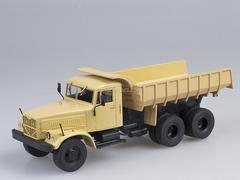 KRAZ-256 B1 Tipper beige 1:43 AutoHistory