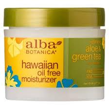 Гавайский увлажняющий крем Алое&Зеленый чай, Alba Botanica