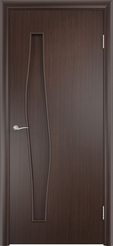 Дверь Верда С-10, цвет венге, глухая