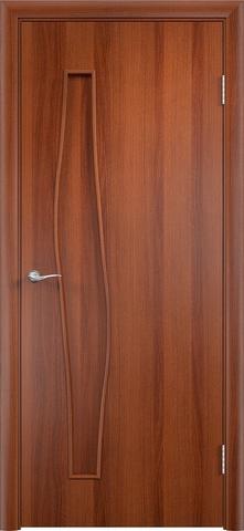 Дверь Верда С-10, цвет итальянский орех, глухая