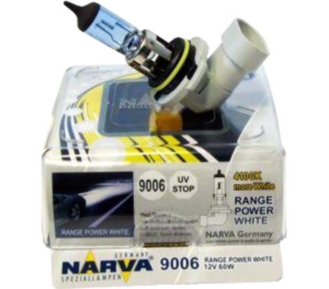 Галогенные лампы Narva HB4 Range Power White (4500K) (2шт.)