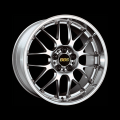 Диск колесный BBS RS-GT 8.5x20 5x120 ET15 CB82.0 brilliant silver/diamond cut
